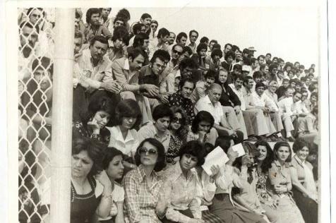 تماشاگران استادیوم ورزشی قبل از انقلاب اسلامی11